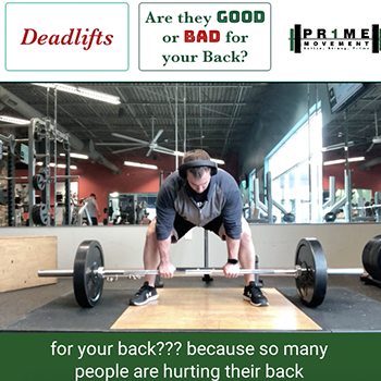 are deadlifts good for your back physical therapy pineville