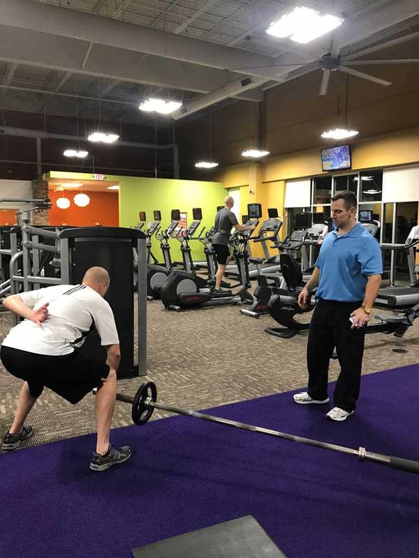 chris customized workout program charlotte