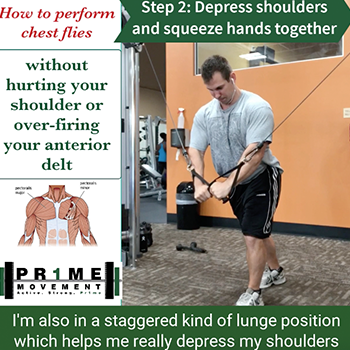 how to perform chest flies without hurting your shoulder physical therapy pineville