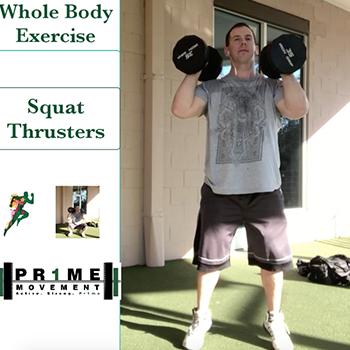squat thrusters