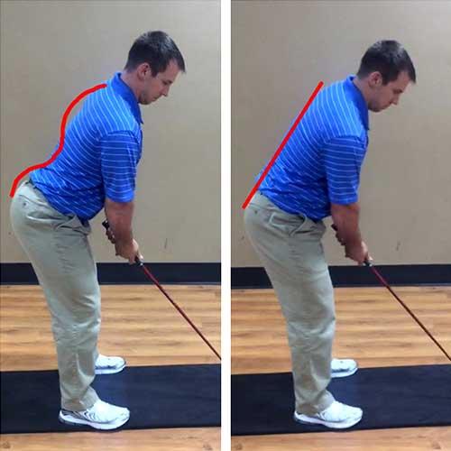 Golf Posture